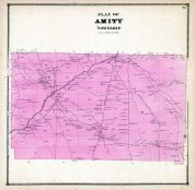 Amity Township, Erie County 1865